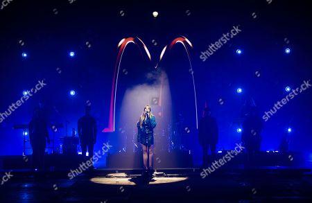 Editorial photo of McDonald's 'I'm Lovin' It Live' music festival, Day 1, UK - 30 Oct 2020