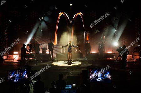 Editorial image of McDonald's 'I'm Lovin' It Live' music festival, Day 1, UK - 30 Oct 2020