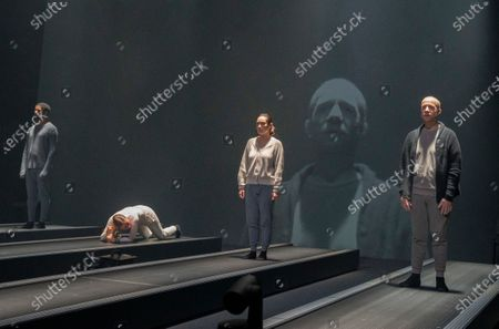 Editorial picture of 'Crave' Plasy by Sarah Kane peformed at the Chicheser Festival Theatre, West Sussex, UK - 31 Oct 2020