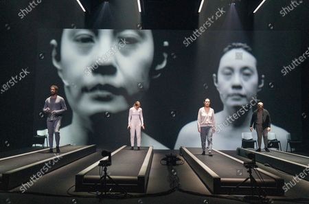 Editorial image of 'Crave' Plasy by Sarah Kane peformed at the Chicheser Festival Theatre, West Sussex, UK - 31 Oct 2020