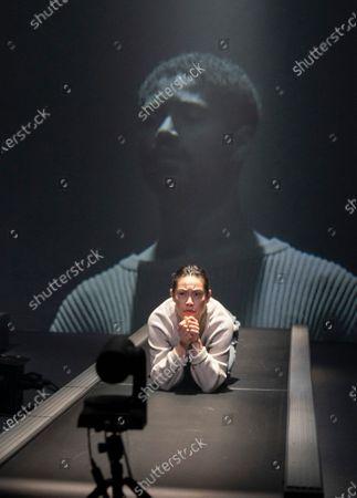Alfred Enoch as B,  Wendy Kweh as M,