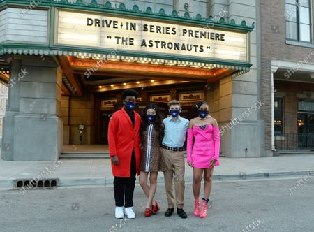 Editorial photo of 'The Astronauts' TV show Drive-in Screening, Universal Backlot, Burbank, California, USA - 30 Oct 2020