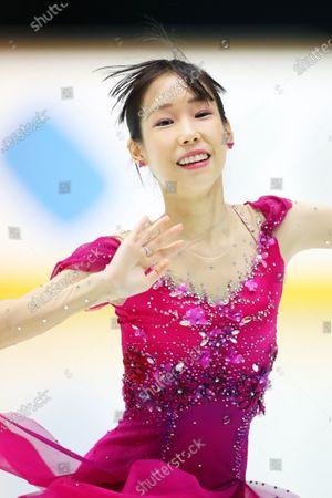 Mai Mihara - Figure Skating :  2020 West Japan Figure Skating Championships  Women's Short Program  at Kyoto Aquarena, Kyoto, Japan.
