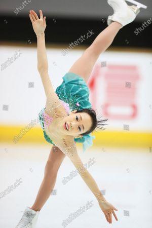 Mai Mihara - Figure Skating :  2020 West Japan Figure Skating Championships  Women's Free Skating  at Kyoto Aquarena, Kyoto, Japan.