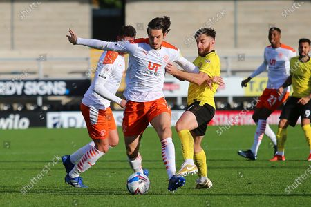 Editorial picture of Burton Albion v Blackpool, EFL Sky Bet League 1 - 31 Oct 2020