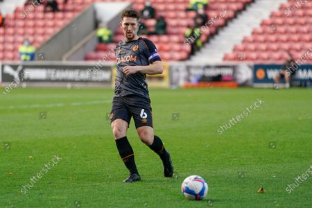 Richard Smallwood of Hull City during the EFL Sky Bet League 1 match between Swindon Town and Hull City at the County Ground, Swindon