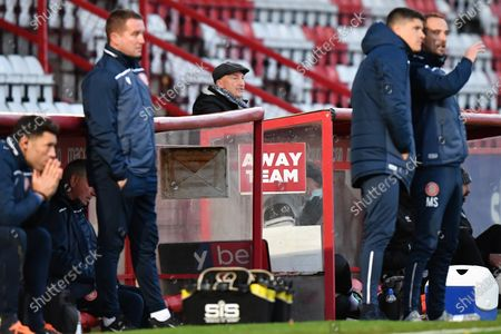 Grimsby Town F.C. Manager Ian Holloway  during Stevenage vs Grimsby Town, Sky Bet EFL League 2 Football at the Lamex Stadium on 31st October 2020