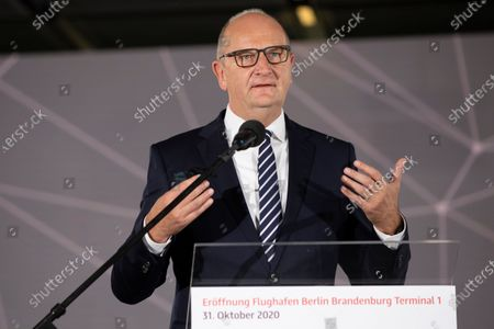 Editorial picture of BER Berlin Brandenburg Airport Begins Operation, Schoenefeld, Germany - 31 Oct 2020