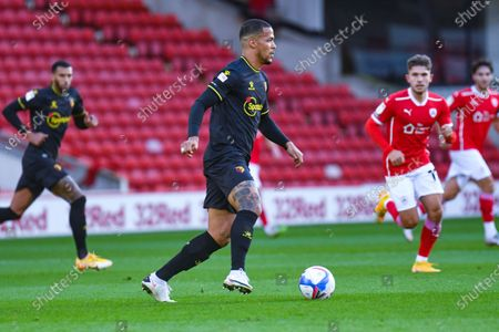 Watford defender William Troost-Ekong (5) during the EFL Sky Bet Championship match between Barnsley and Watford at Oakwell, Barnsley