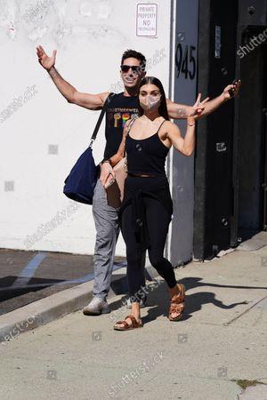 Nev Schulman and Jenna Johnson