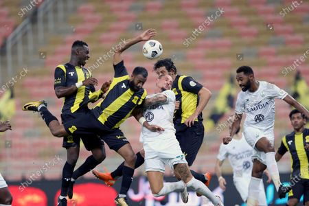 Editorial photo of Al-Ittihad vs Al-Ahli, Jeddah, Saudi Arabia - 31 Oct 2020