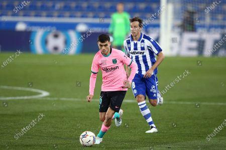 Editorial image of Deportivo Alaves v FC Barcelona, LaLiga Santander, date 8. Football, Mendizorrorza Stadium, Bilbao, Spain - 31 OCT 2020