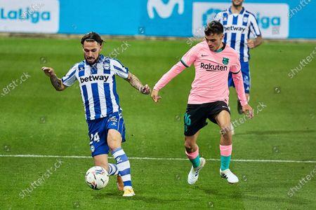 Editorial picture of Soccer: La Liga - Alaves v Barcelona, Vitoria, Alava, Spain - 31 Oct 2020