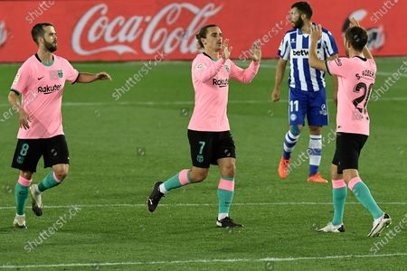 Editorial photo of Soccer La Liga, Vitoria, Spain - 31 Oct 2020