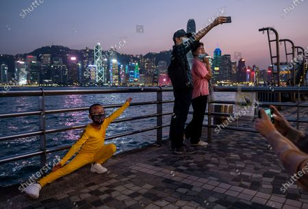 Editorial picture of Halloween Night in Hong Kong, China - 31 Oct 2020