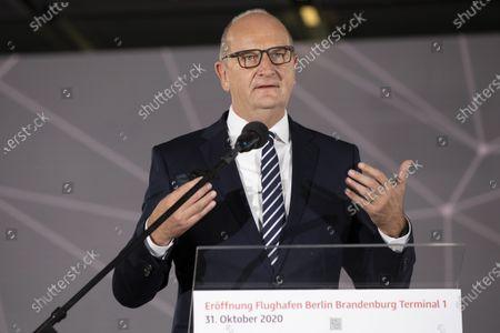 Editorial image of Opening of Berlin Brandenburg Airport (BER), Schoenefeld, Germany - 31 Oct 2020