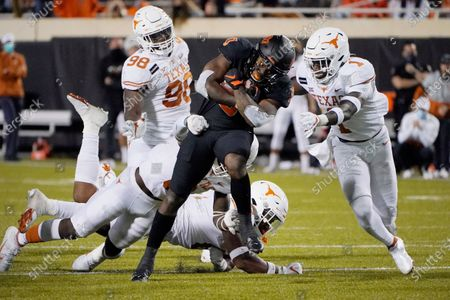 Editorial image of Texas Oklahoma St Football, Stillwater, United States - 31 Oct 2020
