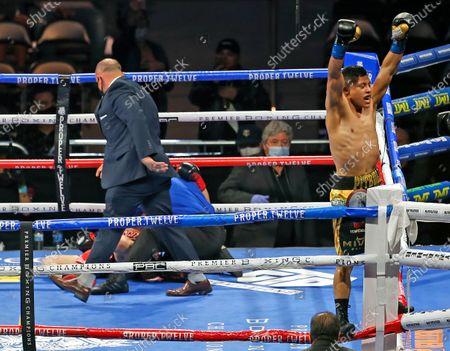 Editorial image of Cruz Magdaleno Boxing, San Antonio, United States - 31 Oct 2020