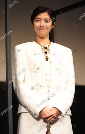 """Editorial picture of The world premiere of the movie """"Eternally Younger Than Those Idiots"""" at the Tokyo International Film festival, Tokyo, Japan - 01 Nov 2020"""