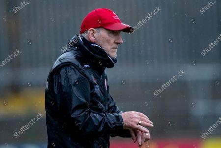 MacCumhaill Park, Ballybofey, Co.Donegal 1/11/2020. Donegal vs Tyrone . Tyrone manager Mickey Harte