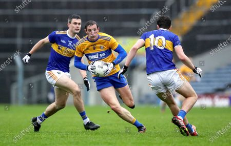 Clare vs Tipperary . Clare's Cathal O'Connor