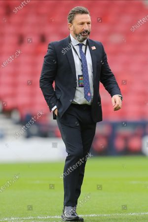 Aberdeen Manager Derek McInnes during the William Hill Scottish Cup semi-final match between Celtic and Aberdeen at Hampden Park, Glasgow
