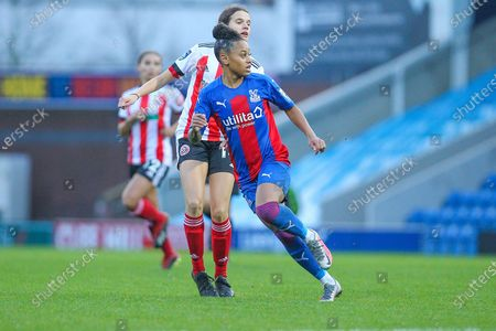 Editorial image of Sheffield United Women v Crystal Palace LFC, FA Women's Championship - 01 Nov 2020