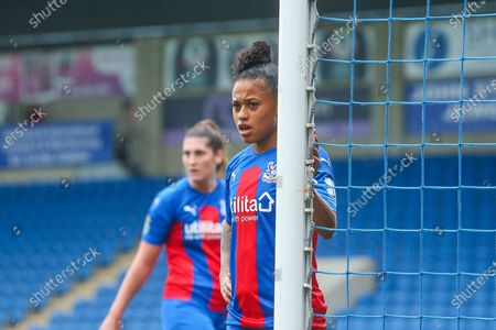Stock Image of Portrait of Siobhan Wilson of Crystal Palace W during the FA Women's Championship match between Sheffield United Women and Crystal Palace Women at Sir Tom Finney Stadium, Preston