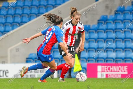 Editorial picture of Sheffield United Women v Crystal Palace LFC, FA Women's Championship - 01 Nov 2020