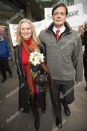 Dr Andrew Wakefield and his wife