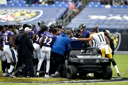 Editorial photo of Steelers Ravens Football, Baltimore, United States - 01 Nov 2020