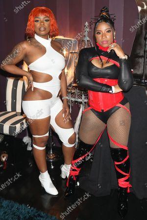 Seandrea Sledge and Toya Johnson