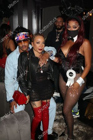 T I., Tameka Harris and La La Anthony