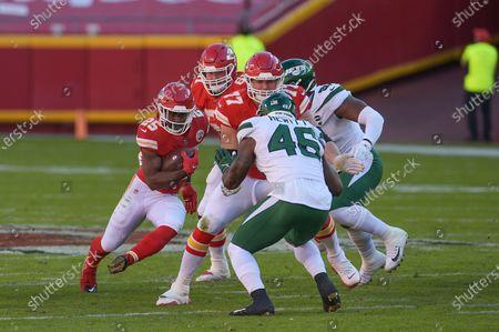 Editorial image of NFL Football New York Jets vs Kansas City, Kansas City, USA - 01 Nov 2020