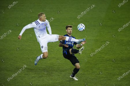 Editorial picture of MLS Montreal Impact Orlando City Soccer, Harrison, United States - 01 Nov 2020