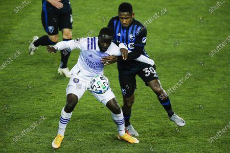 Editorial photo of MLS Montreal Impact Orlando City Soccer, Harrison, United States - 01 Nov 2020