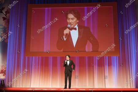The 33rd Tokyo International Film Festival opening. Festival Ambassador, Koji Yakusho