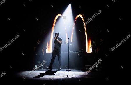 Editorial image of McDonald's 'I'm Lovin' It Live' music festival, Day 2, UK - 01 Nov 2020