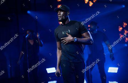 Editorial photo of McDonald's 'I'm Lovin' It Live' music festival, Day 2, UK - 01 Nov 2020