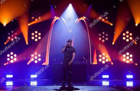 Editorial picture of McDonald's 'I'm Lovin' It Live' music festival, Day 2, UK - 01 Nov 2020