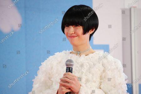 Yui Sakuma - The 33rd Tokyo International Film Festival. Opening Ceremony at Roppongi Hills in Tokyo, Japan on October 31, 2020.