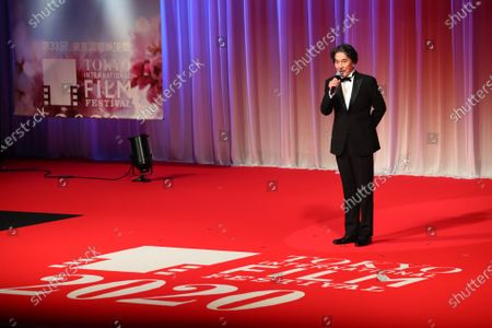Koji Yakusho - The 33rd Tokyo International Film Festival. Opening Ceremony at Roppongi Hills in Tokyo, Japan on October 31, 2020.