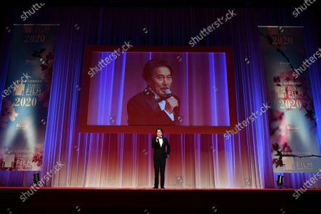 Stock Photo of Koji Yakusho - The 33rd Tokyo International Film Festival. Opening Ceremony at Roppongi Hills in Tokyo, Japan on October 31, 2020.