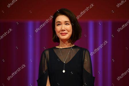Mariko Tsutsui - The 33rd Tokyo International Film Festival. Opening Ceremony at Roppongi Hills in Tokyo, Japan on October 31, 2020.