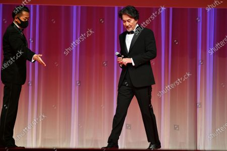 Stock Image of Koji Yakusho - The 33rd Tokyo International Film Festival. Opening Ceremony at Roppongi Hills in Tokyo, Japan on October 31, 2020.