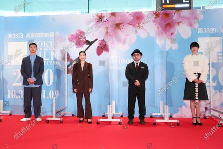 Yo Aoi, Kokoro Morita, Ryohei Yoshino, Yui Sakuma - The 33rd Tokyo International Film Festival. Opening Ceremony at Roppongi Hills in Tokyo, Japan on October 31, 2020.