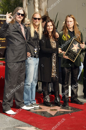 Barbara Orbison and family