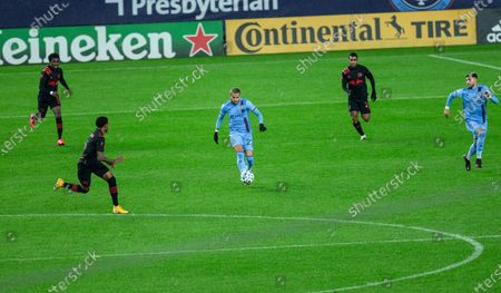 Editorial picture of New York Red Bulls regular MLS game at NYCFC, United States - 01 Nov 2020