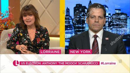 Lorraine Kelly, Anthony Scaramucci