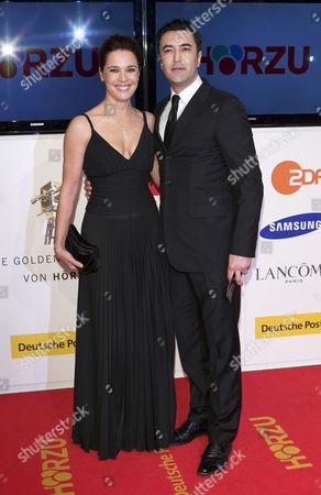 Desiree Nosbusch and Mehmet Kurtulus